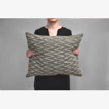 -Kilim wool pillow Zigzag-21