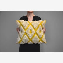 -Kilim wool pillow Diamonds-21