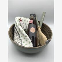 -Salatschüssel Set mit Honigessig-21