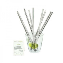 -Stainless Steel Straw A Slice of Green-21