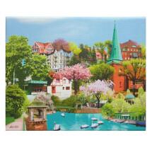 """-Canvas print """"HAMBURG Eppendorf""""-20"""