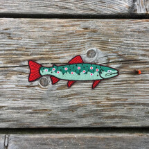 -Trout Patch Iron-On Patch-20