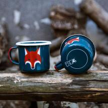 -Fox enamel mug-21