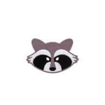-Raccoon patch iron-on patch-2