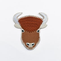 -Bison iron-on patch-21