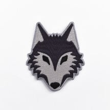 -Wolf iron-on patch-20