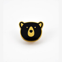 -Bear enamel pin-2