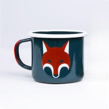 -Fox enamel mug-2