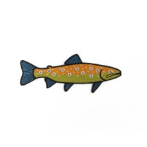 -Trout iron-on patch-21