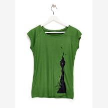 -Rapunzel Ladies T-Shirt green-21