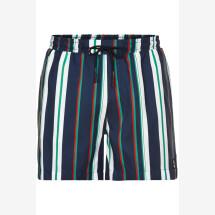 -Anerkjendt Navy striped swim shorts-21