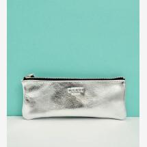 -Leather pencil case silver-21