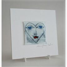 -GlasBild Face 15x15 white-21