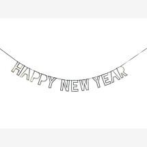 -Meri Meri Silver Happy New Year Garland-21