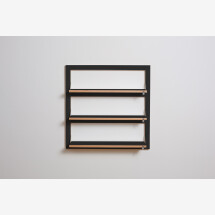 -Fläpps shelf 80x80x3 black-20