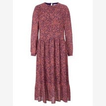 -Midi dress with a floral pattern flowers for friends-21