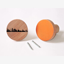 -Frankfurt Wardrobes Knobs made of beech wood wall hooks-20
