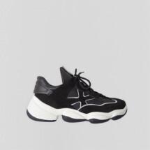 -Sneaker Franky-James Schwarz von BRONX-21