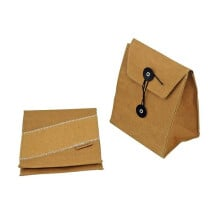 -Brown fashionable lunch bag Kraft-21