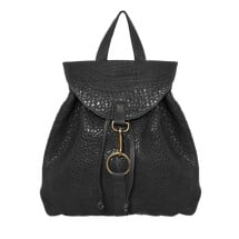 -Black Leather Backpack Oslo-21