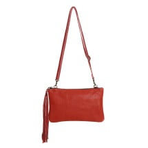 -Small Red Leather Handbag Carolina-22