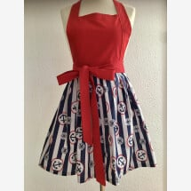 -Kitchen apron for the modern woman Maritim Anker-21