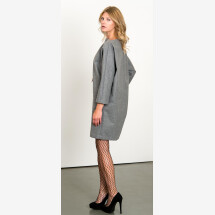 -Gray boxing dress-21