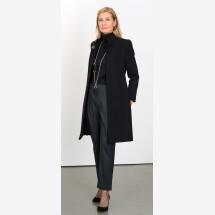 -Black coat with high slit-21