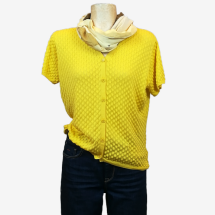 -yellow short sleeve cardigan-21
