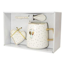 -Grandma Gift Set Cup with gold handle MEA LIVING-2