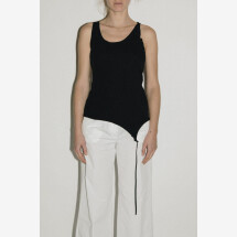 -Black Top with Coulisse from NOSTRASANTISSIMA-21