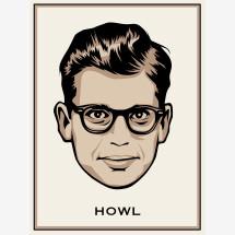 """-Allen Ginsberg """"Howl"""" print-22"""