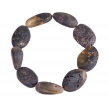 """-Amber bracelet """"Baltic wave""""-21"""