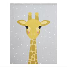 -Ava and Yves Grau Giraffe Poster A3-21