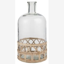 -Ib Laursen glass bottle with bamboo-21