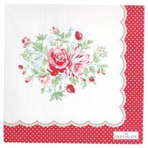 -GreenGate paper napkin Mary White-21