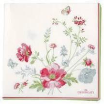 -GreenGate paper napkin meadow white-21