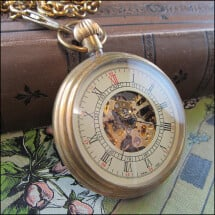 -Great teatime mechanical pocket watch-2