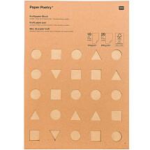 -Rico Design Kraft Paper Block Paper Poetry-21