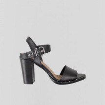"-black heeled sandals ""Hayden"" by BRONX-21"
