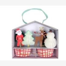 -Meri Meri Santa and Reindeer Cupcake Kit-21
