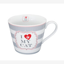 -Krasilnikoff Mug HAPPY CUP I LOVE MY CAT WITH STRIPES-20