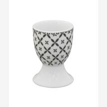 -Egg cup CHARACOAL DIAGONAL Krasilnikoff-21