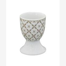 -Krasilnikoff Egg Cup TAUPE DIAGONAL-20
