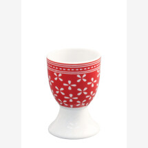 -Egg cup RED DAISY Krasilnikoff-21
