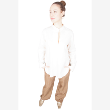-light beige shirt blouse with special details-2