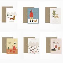 -Christmas card set Vicky Di Studio 2-21
