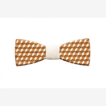-BeWooden Cubo wooden bow tie-21