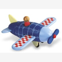 -class Magnetic plane made of wood Janod-21
