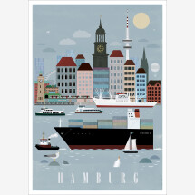 -Hamburg city poster-22